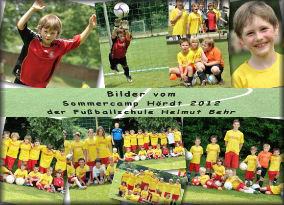 Fu�ball Sommercamp H�rdt 2012